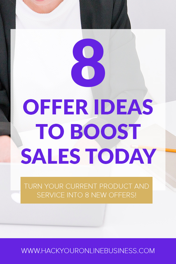 8 Offer Ideas To Boost Sales Today PIN 1