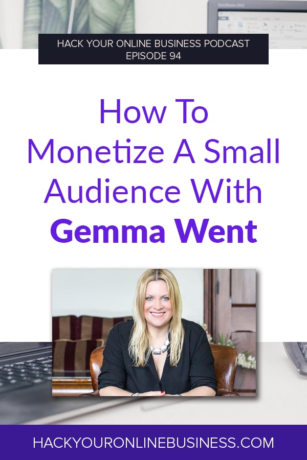 How to monetize a small audience