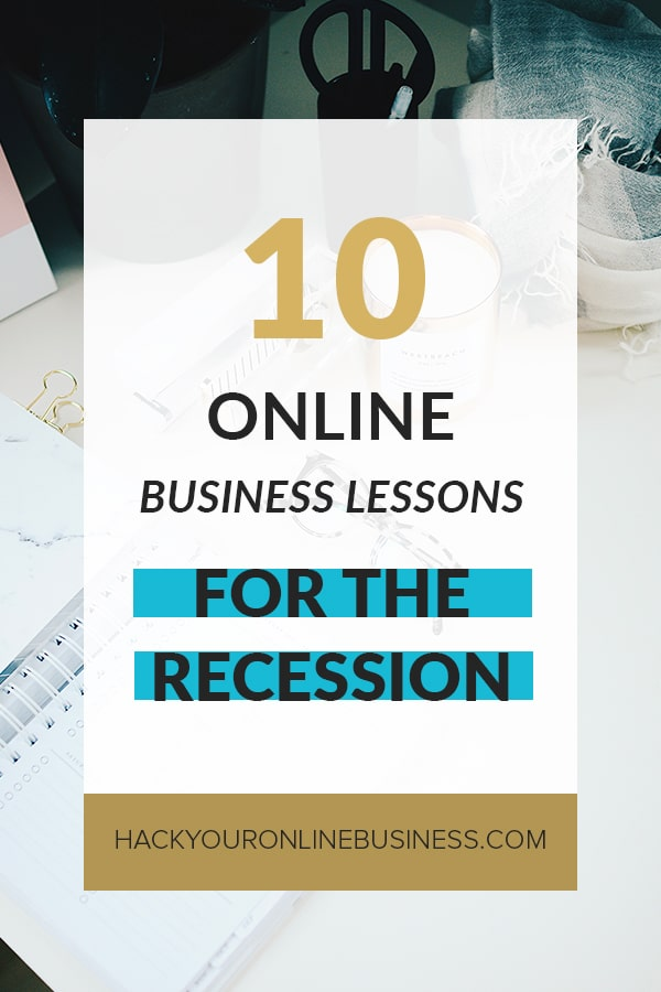 10 online business tips for the recession