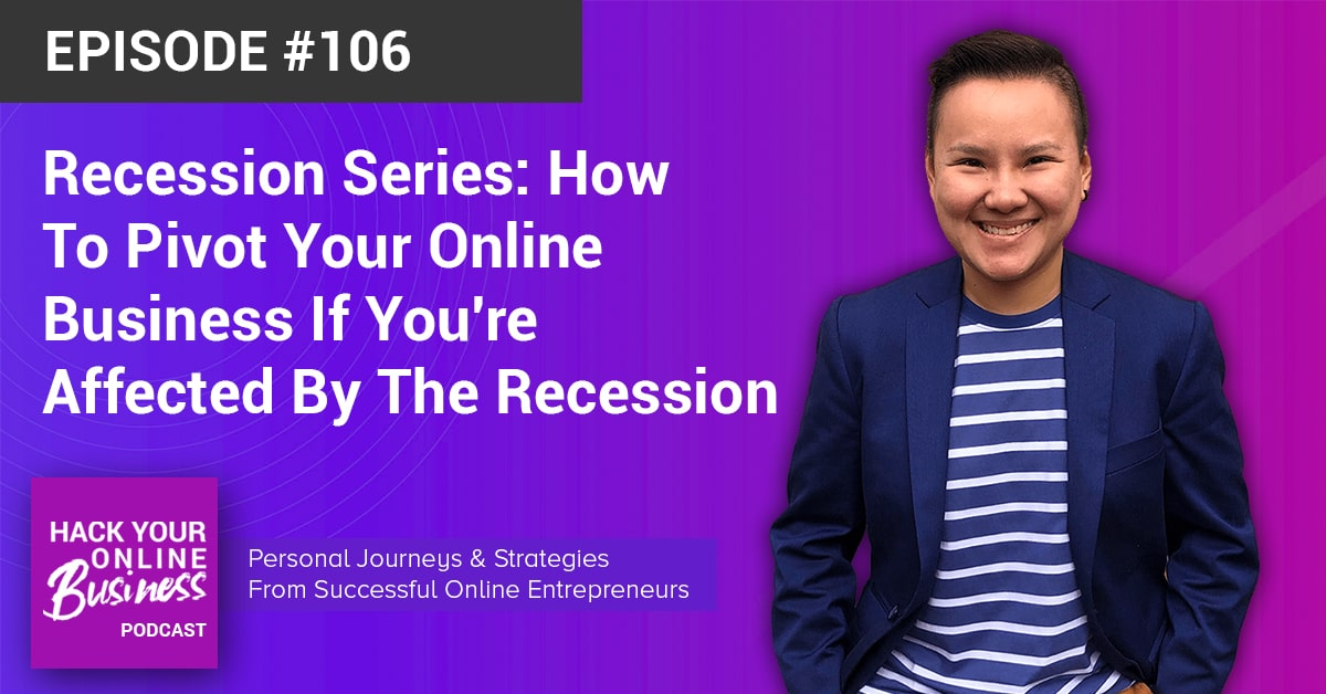 Recession Series - How To Pivot Your Online Business If Youre Affected By The Recession