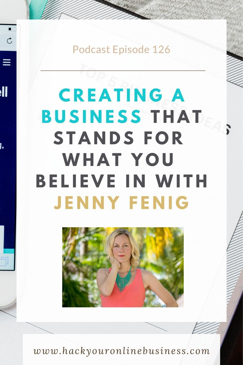 Creating a business that you believe in