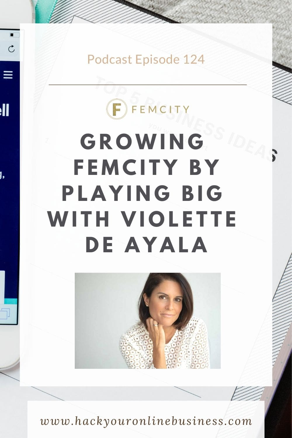 Growing Femcity Violette de Ayala