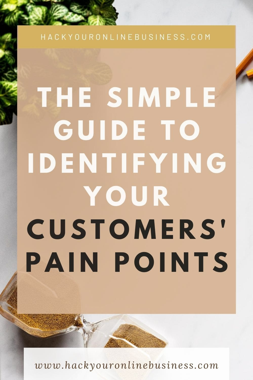 Identifying Your Customer Pain Points PIN 1